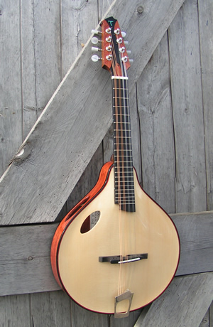 The off set soundhole Mandolin MVI